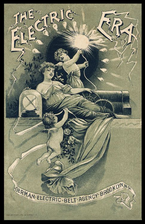 electrical sensitivity - The Electric Era - Vintage electric ad